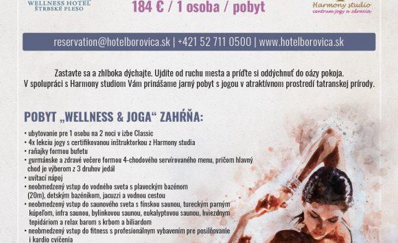 Pobyt s jogou v Tatrách vo Wellness Hoteli Borovica