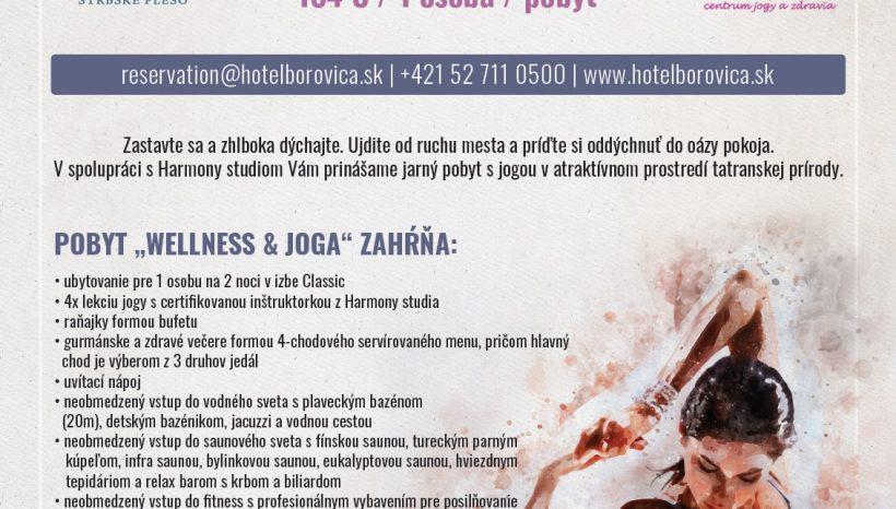 Užite si jarný relaxačný joga pobyt vo Wellness Hoteli Borovica
